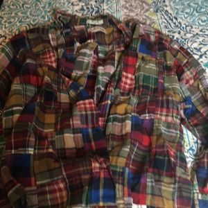 Classic Orvis Patchwork Shirt